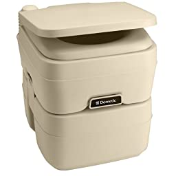 DOMETIC SANITATION 311096502 / Dometic - 965 Portable Toilet 5.0 Gallon Parchment