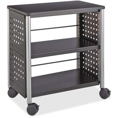 Safco Products Scoot Personal Bookcase, Black