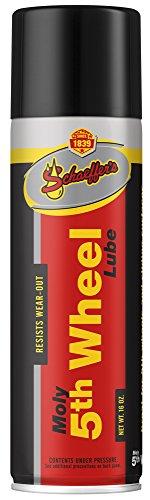 Schaeffer Manufacturing Co.0202-011S Moly 5th Wheel Lube Spray, 16 oz. Aerosol Can (5th Wheel Lube Plate)