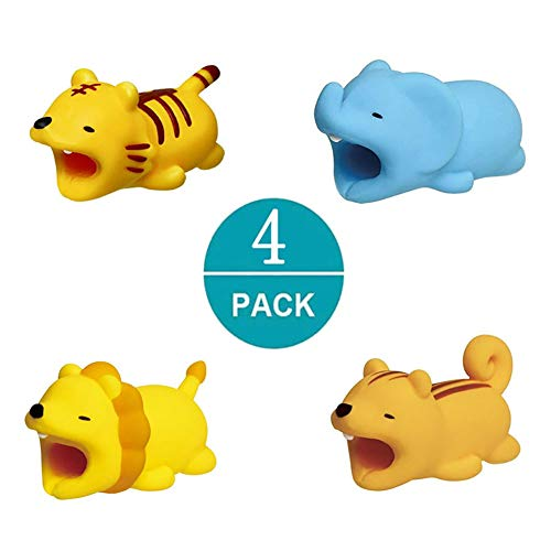 - Cable Buddies,Cable Bite Compatible with iPhone,Zhaoyun Cute Cellphone Cable Protector Charger Saver(4 Pack)-Forest Series