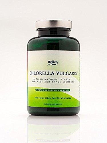 Chlorella Vulgaris - 1000 tablets