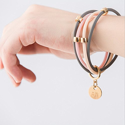 Fuhaoo Mosquito Repellent Bracelet Insect Protection Wrist Bands Deet Free No Spray for Lady girls