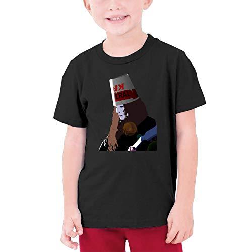 (TheresaT.Clodfelter Boys Buckethead Summer Soft Cotton Concert Golf Short Sleeves T Shirt Gift)