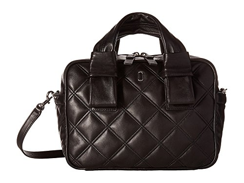 Marc Jacobs Women's Quilted Antonia Bauletto Bag, Black, One Size
