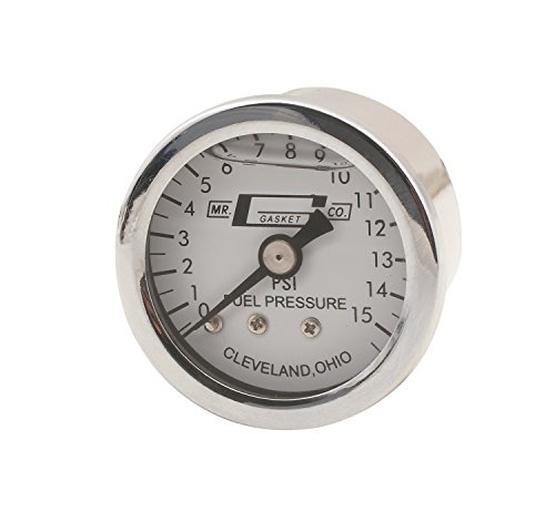 Mr. Gasket 1563 Liquid Filled Fuel Pressure Gauge