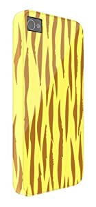 Tiger Skin Yellow Pattern iPhone 5 / 5S protective case (image shows iPhone 4 example)