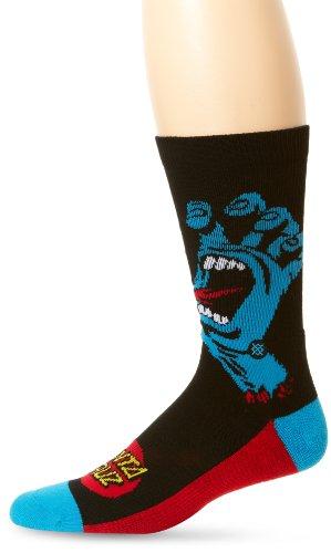 Stance Men's Screaming Hand Sock, Black, Sock Size:10-13/Shoe Size: 6-12