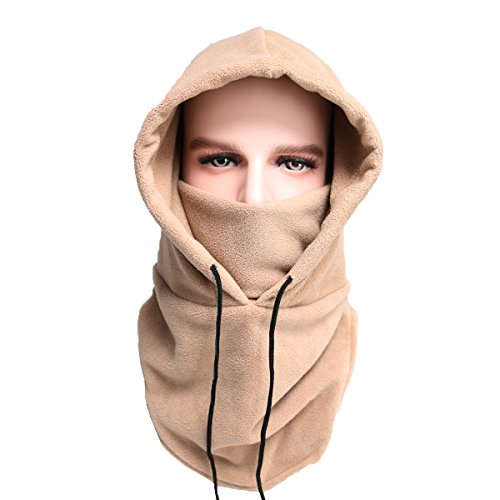 1d3e83075da Balaclava Ski Mask Cold Weather Face Mask Motorcycle Neck Warmer - Tactical Balaclava  Fleece Hood for