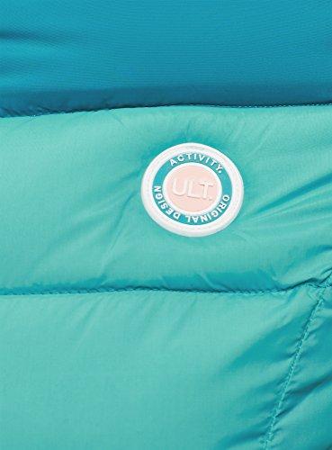 oodji Chaqueta Cálida 7073b Ultra Degradado Azul de Color Mujer q7qfn1S