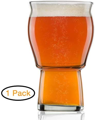 Nucleated Beer Glass Drinkers Retention