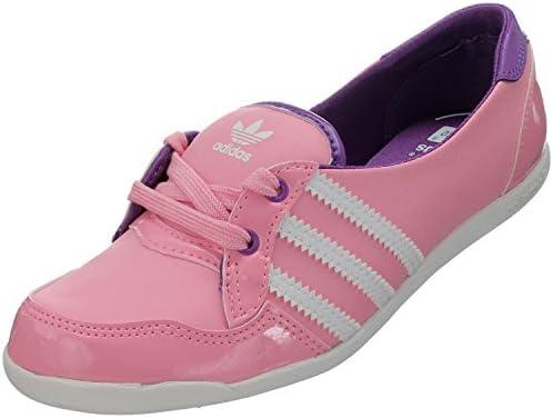 adidas Forum Slipper K - Zapatillas de Material Sintético para niña, Color Rosa, Talla 33: Amazon.es: Zapatos y complementos