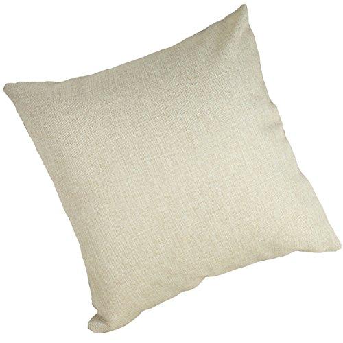 "Redland Art Cute Pet Golden Retriever Dog Pattern Cotton Polyester Throw Pillow Case Car Sofa Cushion Cover Home Decor 18""x18"""