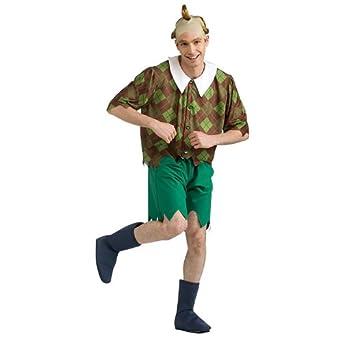 Amazon.com: Wizard Of Oz Lollipop Guild Costume, Brown/Green, X ...