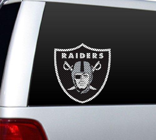 NFL Oakland Raiders Die Cut Window Film - Raiders Die Cut Decal