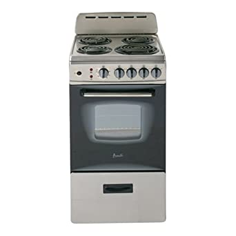 "20 Electric Range >> Amazon.com: Avanti ER20P3SG Freestanding 20"" Electric"