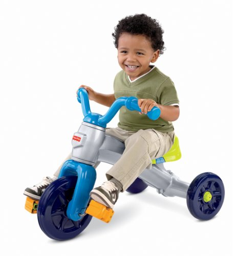 Fisher-Price Grow With Me Trike (Plastic Tricycle)