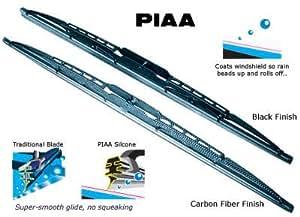 PIAA Limpiaparabrisas negro - silicona rubber hoja - Size 8, 475 mm / 19 inch PN: WS48EB