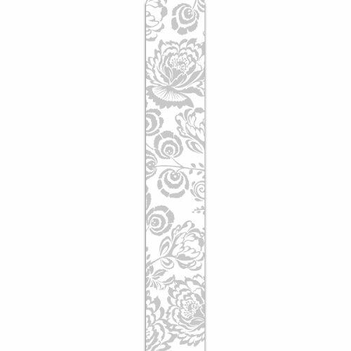 (Offray Florentine Craft Ribbon, 1 1/2-Inch x 9-Feet, Silver )