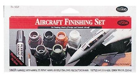 Testors Aircraft Finishing Enamel Paint Set [Toy] ()