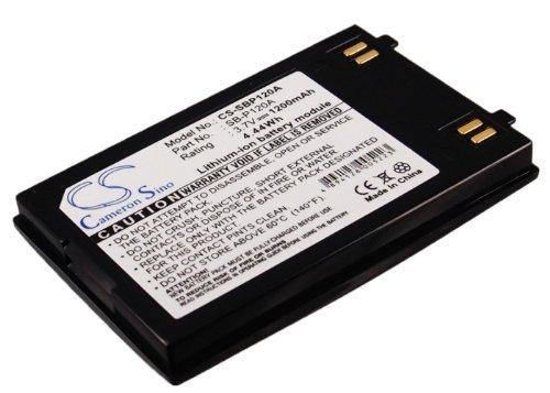 ビントロンズ( TM ) – 1200 mAhバッテリーfor Samsung sb-p120 a、sb-p120abc、sb-p120abk、sb-p120asl B017OR252C