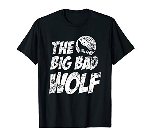 The Big Bad Wolf Shirt, Funny Cute Halloween Costume Gift]()