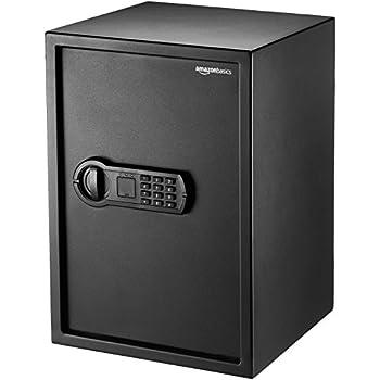 Image of AmazonBasics Home Keypad Safe - 1.8 Cubic Feet, 13.8 x 13 x 19.7 Inches, Black - 50SAM Home Improvements
