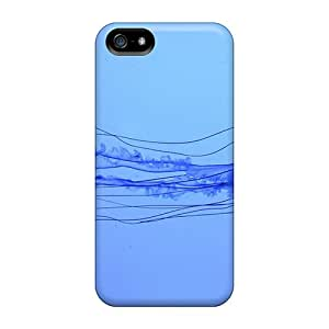 New Style Tpu 5/5s Protective Case Cover/ Iphone Case - Box Jellyfish