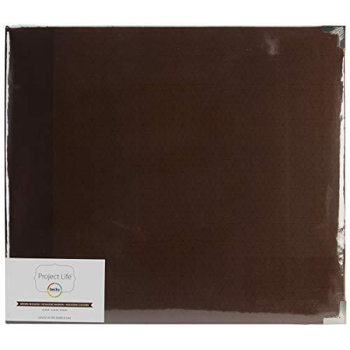 12x12 Chocolate Album (American Crafts 380052 Kraft Paper, Jade Edition-Chocolate)
