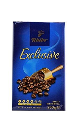 Tchibo Exclusive Coffee, Premium Ground, 8.8-Ounce Vacuum Packs (Pack of ()