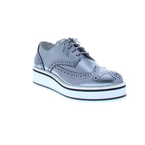 Blucher Zapatos Multicolor Marrón Plataforma Bronx Piel F0dqndpwU
