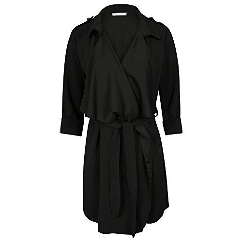 Get Trench Femme Trend Noir The Blouson vqarwvP