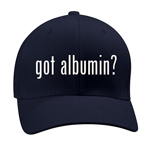 got albumin? - A Nice Men's Adult Baseball Hat Cap, Dark Navy, Small/Medium