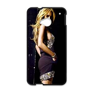 HTC One M7 Cell Phone Case Black Lindsay Lohan M1I5OK