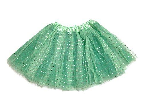 KWC - Sparkling Sequin Princess Birthday Party Tutu (Mint) ()