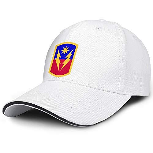 Trendy Snapback Hat for Men 40th Infantry Brigade Combat Team Dad Hats Baseball Cap Unisex Adjustable Ball Cap