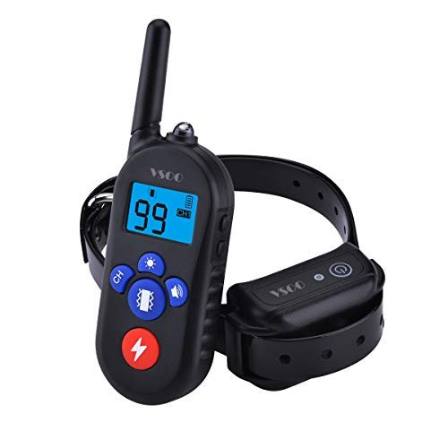 VSOO Dog Training Collar PES002, 100% Waterproof and Rechargeable Dog Shock Collar 330 Yards Remote with Beep/Vibration/Electric Shock Modes E-Collar for Small Medium Large Dogs – Amazon Vine Review
