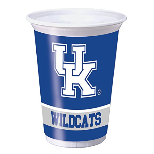 University of Kentucky Plastic Cups, 24 ct