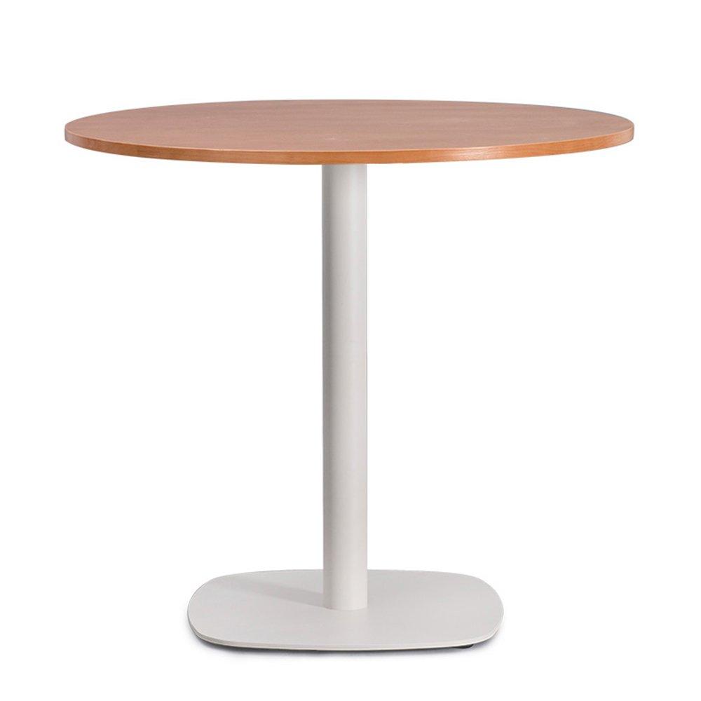 XIAOLIN オフィステーブル現代会議テーブルコーヒーラウンドテーブル交渉テーブルレセプションデスクパーラーテーブルホームテーブルシンプルなウッドアートアイアンエレガントな組み合わせオプションの色、サイズ (色 : 01, サイズ さいず : 65*72cm) B07F1QHSPQ 65*72cm|01 1 65*72cm