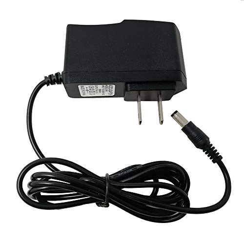 TYZEST 9V Power Supply Adapter Compatible with Casio Piano Keyboard AD-5 AD-5UL AD5MU AD-5MLE AD-5GL AD5GL TC1#1035 Power Cord for CTK, CA, MA, HT, LK, CT, Series (Yamaha Keyboard Adapter)