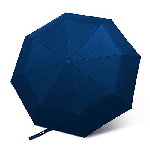 InnooTech Regenschirm Automatischer Taschenschirm mit 96cm Durchmesser für Damen und Herren, Sturmfest Windfest Stabil Klassisch Dunkelblau