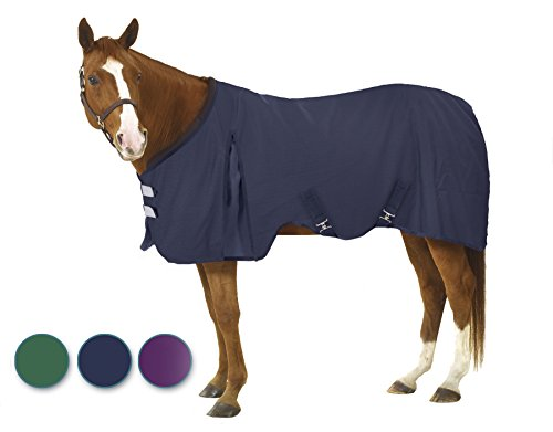 (EQ EZ-Care Stable Sheet 72 Navy)