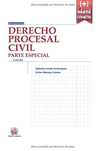 Descargar Libro Derecho Procesal Civil Parte Especial 8ª Edición 2016 Victor Moreno Catena