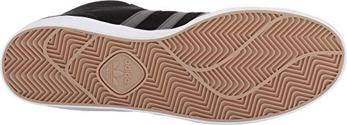 Vulc Black Suede - adidas Skateboarding Men's Pro Model Vulc Core Black/Utility Black/Gold Metallic 8 D US