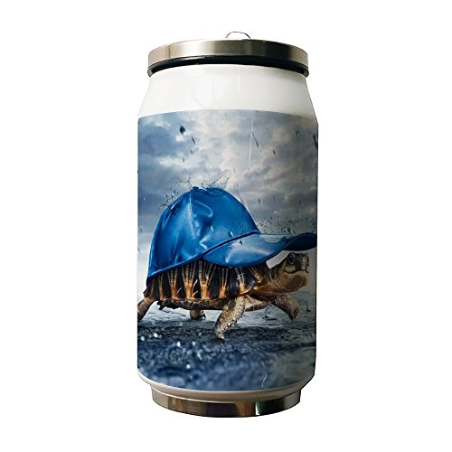 Kdnsgfds Sea Turtle In A Blue Hat Double Vacuum Insulated St