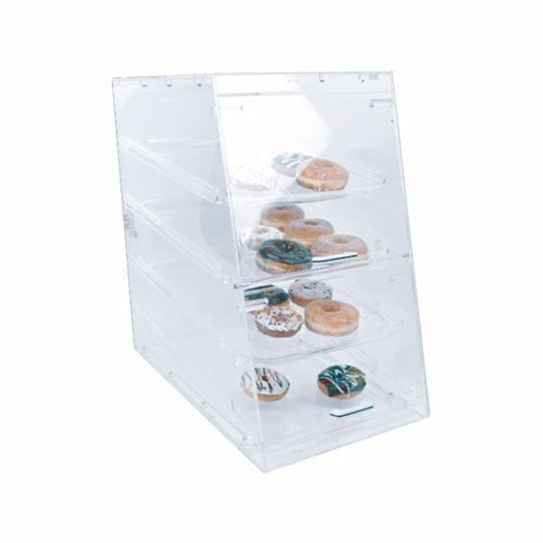 Excellante 14'' x 24'' Pastry Display with 4 Tray, NA, NA