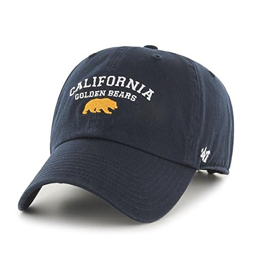 Shop College Wear California Golden Bears 47 Washed Twill Adjustable Cap- Navy