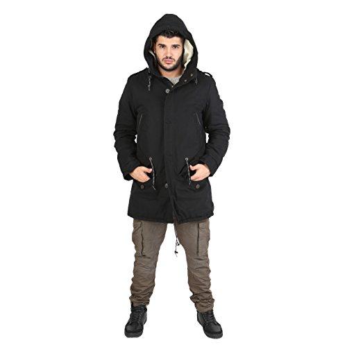 AFF - Coat Parka Men's padded hooded - PK38
