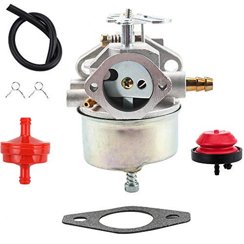 Kizut 631793 Carburetor for Tecumseh 631793 631440 H70 H80 Snow Throwers 7HP 8HP 9HP Snow Blowers – 7HP 8HP 9HP 8HP Tecumseh Carburetor for Engine Snowblower(631793)