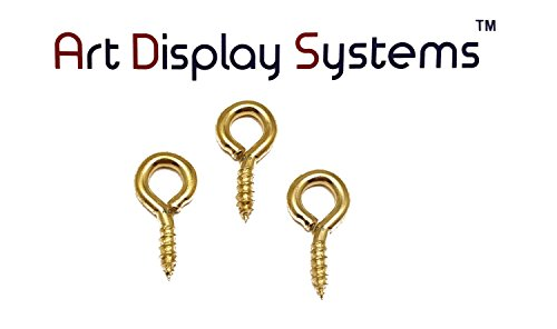ADS 216-1/2 BP Screw Eye - 50 Pack by ART DISPLAY SYSTEMS