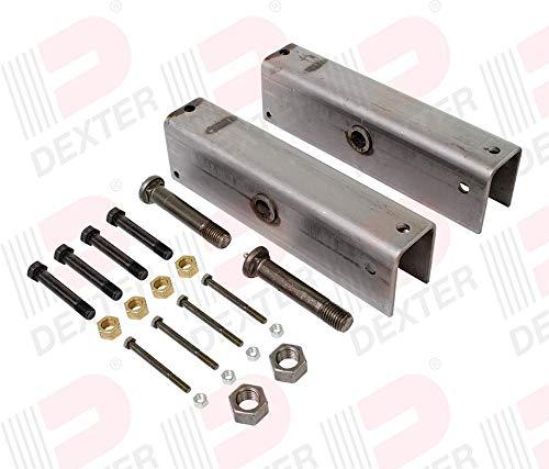Dexter Slipper Spring Suspension Kit for 7,000-8,000 Lb Axles (K71-366-00) by GENUINE DEXTER